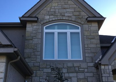 Norman Shutters, Arch, Outside View, Falcon Ridge, Lenexa, KS